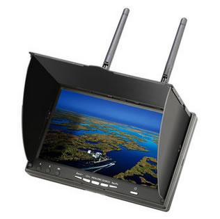 Eachine LCD5802D 5802 5.8G 40CH 7 Inch FPV Monitor z DVR (z własnym zasilaniem)