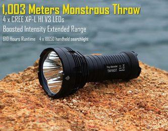 Nitecore TM16GT – potworna moc w niewielkiej latarce