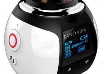 Kamera 360° Mini WiFi Panoramic Video –  przełom fotograficzny